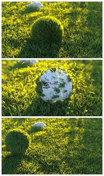 高尔夫体育节目片头模板