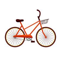 原创元素交通工具自行车