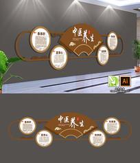 中医传统医院养生文化墙