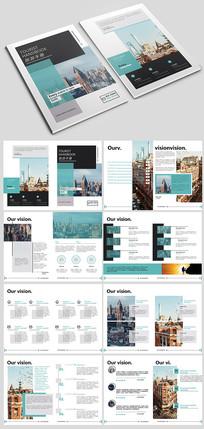 大气国外旅游画册模板