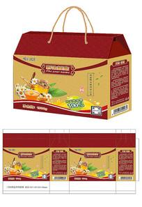 蜂蜜礼盒包装设计