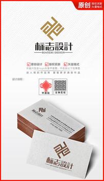 古典图案中国风商标设计logo设计