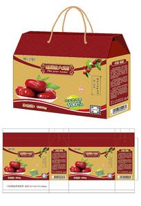 红枣水果包装设计