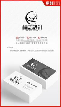 健身俱乐部logo会所商标标志设计