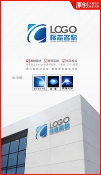 科技飞跃logo设计商标标志设计