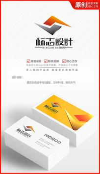 立体科技公司logo设计