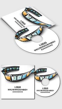 通用电影影视媒体行业光盘封面设计模板