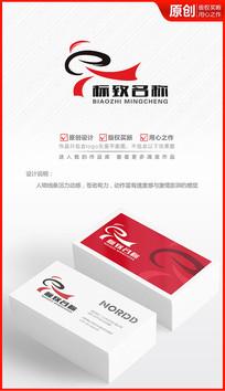 武术学校logo设计武校标志商标设计