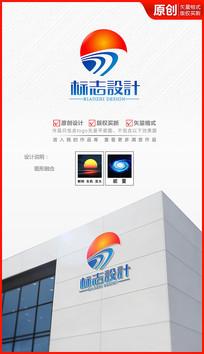 阳光大道logo设计商标标志设计