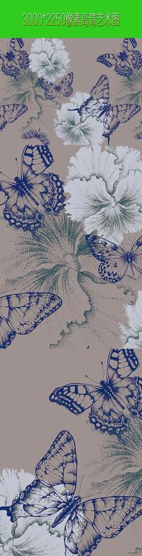 艺术类花鸟图案画