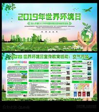 2019年世界环境日宣传展板