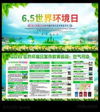 6.5世界环境保护日宣传展板