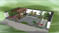 国宝花园庭院