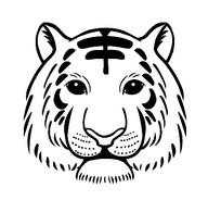 虎头动物画
