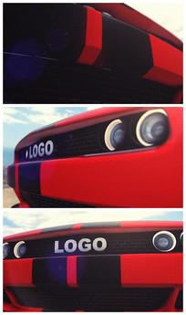 汽车3dlogo演绎AE视频模板