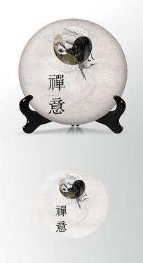 太极茶叶茶饼包装设计茶饼包装