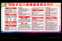 预防手足口病健康教育宣传栏设计