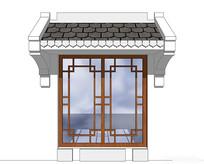 中国特色造型窗