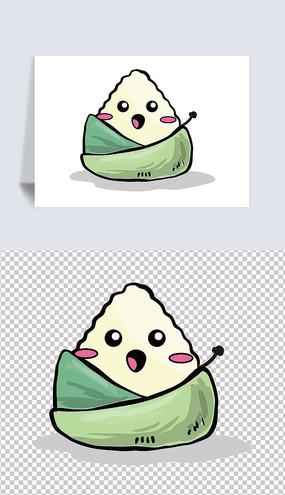 可爱卡通粽子