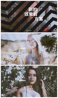 时尚大气现代风展示图文介绍视频模板