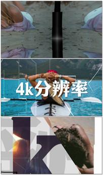 时尚动感图文片头展示视频模板