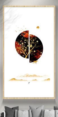 唯美新中式组合装饰画