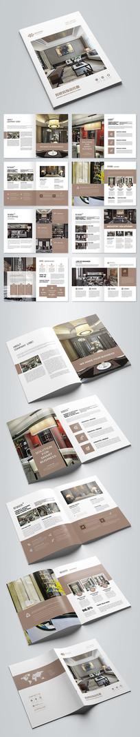 装修装饰公司宣传册设计