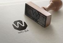 WEIBA标志设计