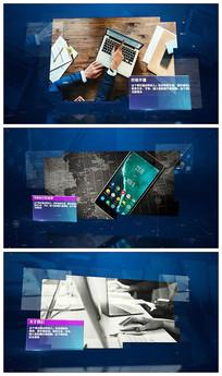 大气科技图文宣传AE视频模板