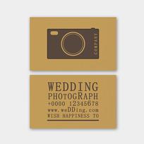 婚礼摄影名片