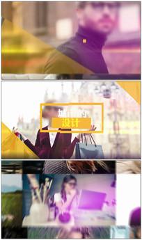 简洁商务会议宣传片AE视频模板
