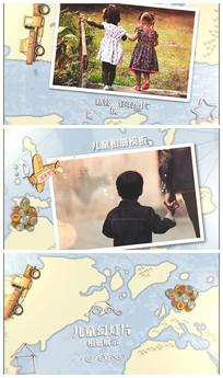 卡通儿童相册视频模板