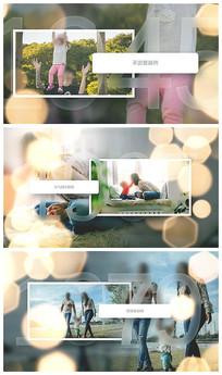 温馨相册时间线展示视频模板