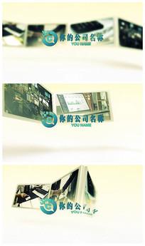 相框折叠展示AE视频模板