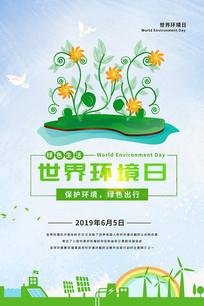 世界环境日宣传海报