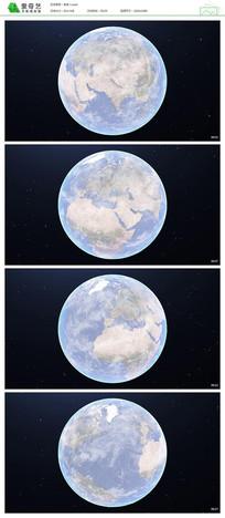 星空地球视频模板
