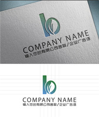 B字母LOGO标志设计