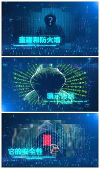 高科技互联网视频模板