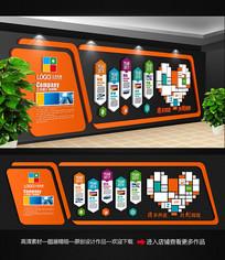 创意企业文化形象墙