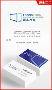 科技之门logo设计商标标志设计