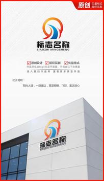 阳光大道logo设计商标标志设计 AI