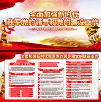 中央军委党的建设会议宣传栏