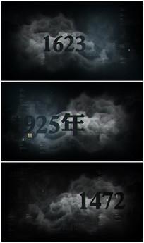 大气影视时间线文字标题ae展示片头视频模板