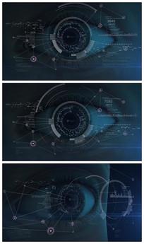 科技之眼宣传片片头视频模板