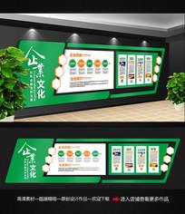 绿色企业文化墙