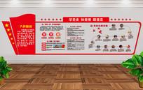 学党章党史党建立体文化墙