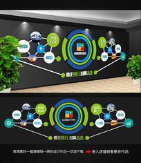 异形企业文化墙照片墙