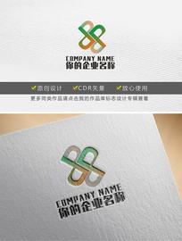 原创dp字母变形企业logo