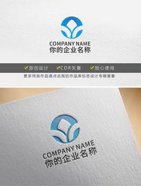 字母Y树形原创logo