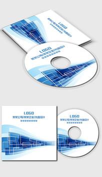 蓝色科技数码IT行业光盘封面设计 PSD